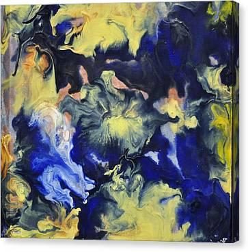 Blue Storm Canvas Print by Brenda Chapman
