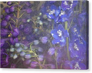 Blue Whirligig Canvas Print by Lynn Wohlers