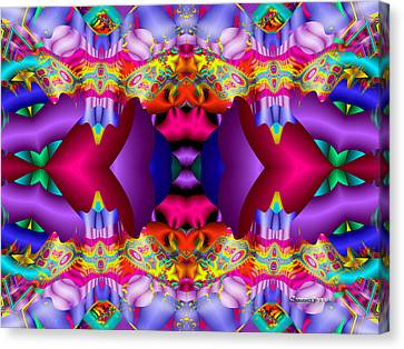 Blueberry Ice Canvas Print by Robert Orinski