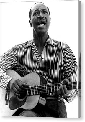 Blues Legend Josh White, 1964 Canvas Print by Everett