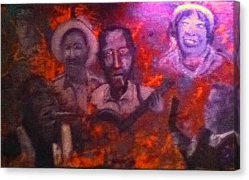 Blues Origin Canvas Print by Richard  Hubal
