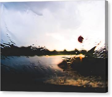 Blurry Stop Canvas Print