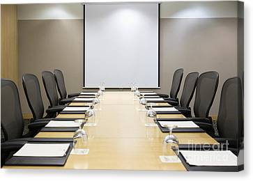Boardroom Canvas Print by Andersen Ross