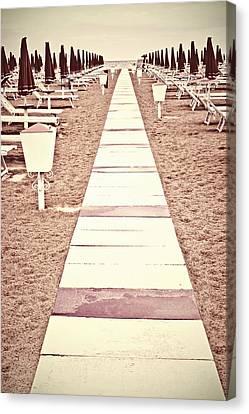 Boardwalk Canvas Print by Joana Kruse