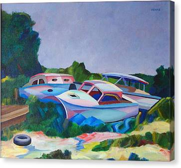 Boat Dreams Canvas Print by Robert Henne