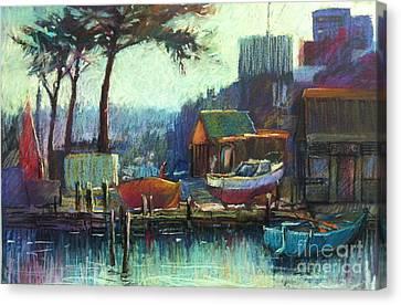 Boatman's Retreat Canvas Print by Pamela Pretty