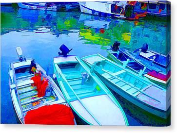 Boats Canvas Print by Mauro Celotti
