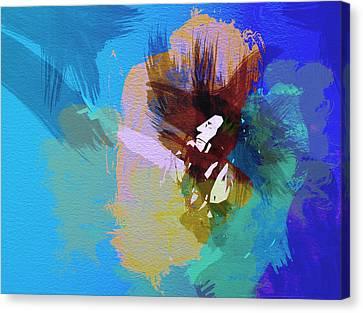 Bob Marley 2 Canvas Print by Naxart Studio