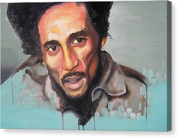 Bob Marley Canvas Print