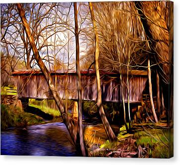 Bob White Covered Bridge Canvas Print