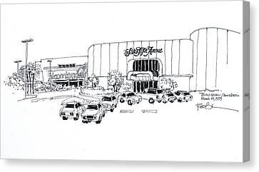 Boca Raton Town Center Mall Canvas Print by Robert Birkenes