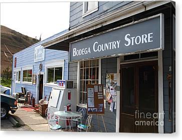 Bodega Country Store . Bodega Bay . Town Of Bodega . California . 7d12452 Canvas Print by Wingsdomain Art and Photography