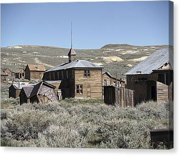 Bodie Cabins 2 Canvas Print by Philip Tolok