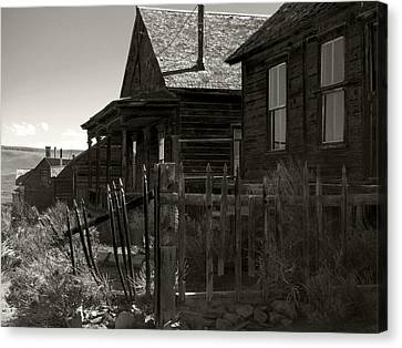 Bodie Cabins 3 Canvas Print by Philip Tolok