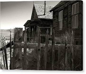 Bodie Cabins 4 Canvas Print by Philip Tolok