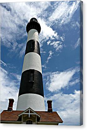 Bodie Island Lighthouse Canvas Print by Jo Sheehan