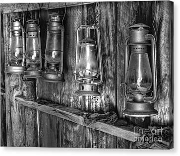 Bodie Lanterns Canvas Print by Scott McGuire