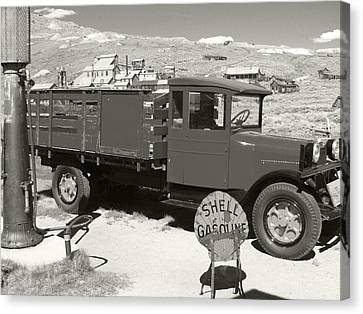 Bodie Shell Gasoline 2 Canvas Print by Philip Tolok