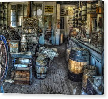 Bodie State Historic Park California General Store Canvas Print by Scott McGuire
