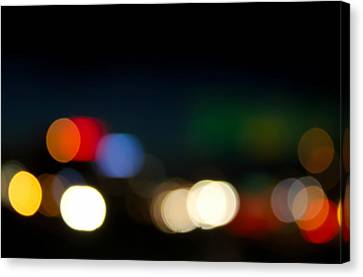 Bokeh Light Canvas Print