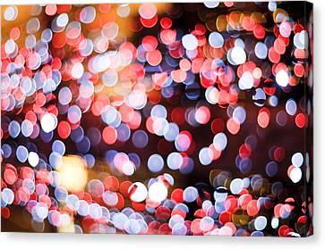 Aperture Canvas Print - Bokeh by Setsiri Silapasuwanchai