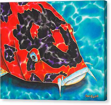 Bolt Koi Canvas Print by Daniel Jean-Baptiste