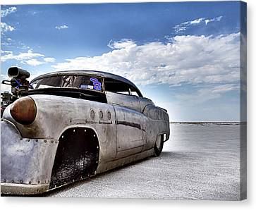 Bombshell Buick Bonneville 2012 Canvas Print by Holly Martin