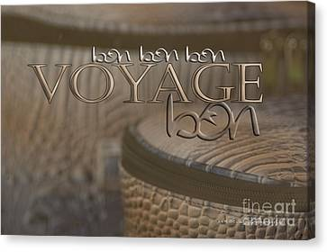 Canvas Print featuring the photograph Bon Voyage by Vicki Ferrari Photography