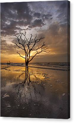 Boneyard Sunrise Canvas Print by Joseph Rossbach