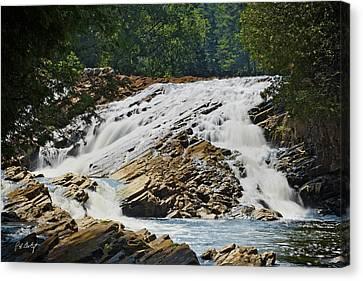 Bonnechere Falls Canvas Print by Phill Doherty