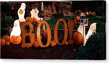 BOO Canvas Print by Nick Kloepping