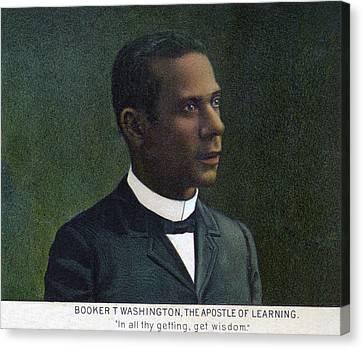 Booker T. Washington, Detail Canvas Print by Everett