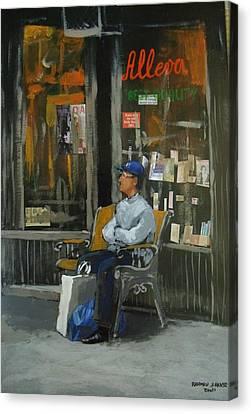 Bookshop  Canvas Print by Rahman Shakir