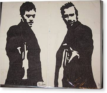 Boondock Saints  Canvas Print by Damian Howell