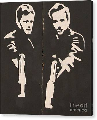 Boondock Saints Canvas Print by Unknown