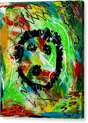 Boooooooo Canvas Print by Terrance Prysiazniuk