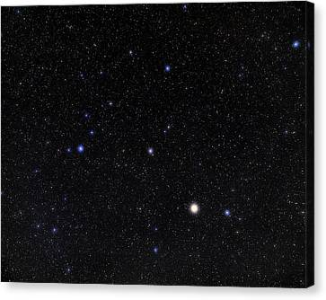 Bootes Constellation Canvas Print by Eckhard Slawik