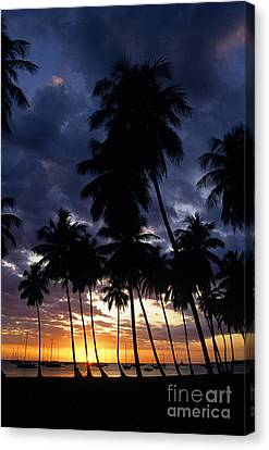 Boqueron Public Beach Canvas Print by Thomas R Fletcher