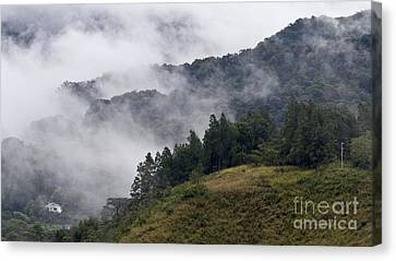 Boquete Highlands Canvas Print by Heiko Koehrer-Wagner