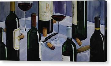 Bordeaux Canvas Print by Geoff Powell