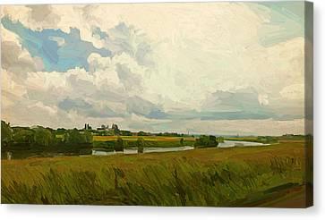 Borgharen Netherlands Canvas Print by Nop Briex