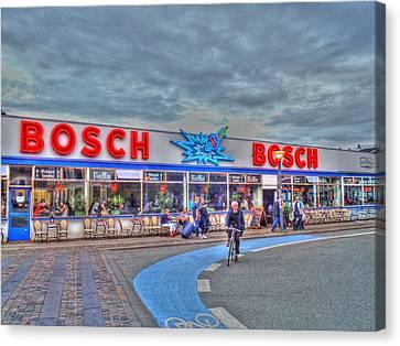 Bosch Canvas Print by Barry R Jones Jr