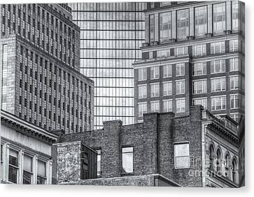 Boston Building Facades II Canvas Print by Clarence Holmes