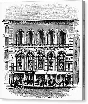 Boston: Tremont Temple Canvas Print by Granger