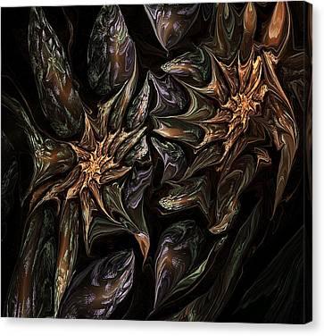 Botanical Fantasy 123011 Canvas Print by David Lane