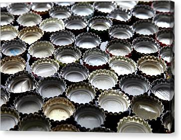 Bottlecaps Canvas Print