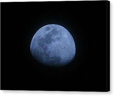Bottomless Moon Canvas Print by Louise Mingua
