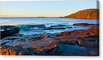 Boulder Bay Sunrise Canvas Print by Paul Svensen