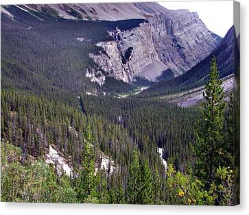 Bow River Valley Canvas Print by George Cousins