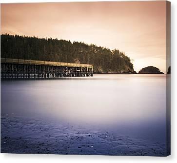 Bowman Bay Sunset Canvas Print